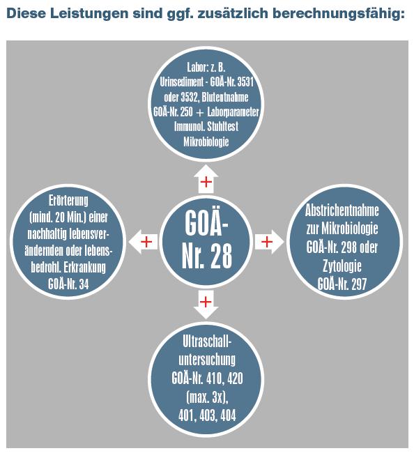 Männervorsorge - Interessantes zur Komplex-Leistung der GOÄ-Nr. 28